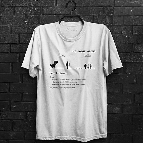 Camiseta - Sem Internet
