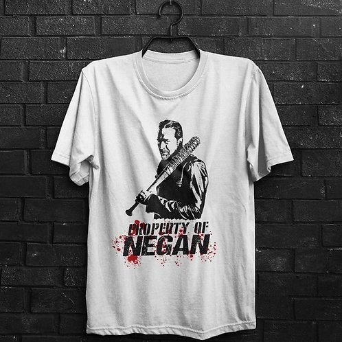 Camiseta - Property of Negan