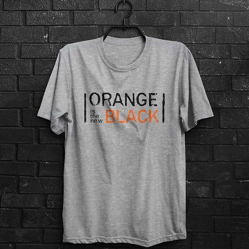 Camiseta - Orange Is The New Black Logo