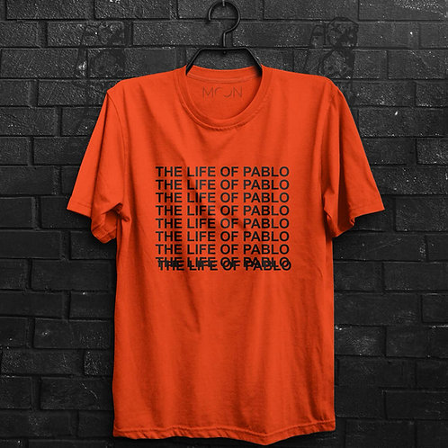 Camiseta - Kanye West - The Life Of Pablo