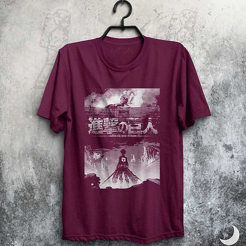 Camiseta - Attack On Titan
