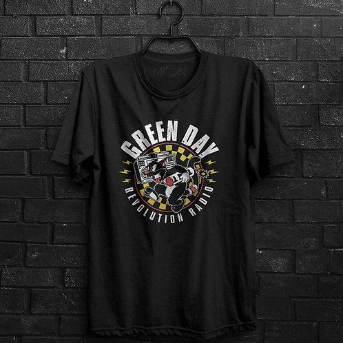 Camiseta - Green Day Revolution Radio