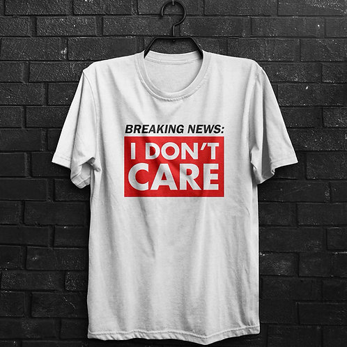 Camiseta - Breaking News
