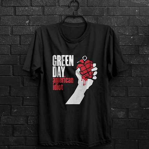 Camiseta - Green Day - American Idiot