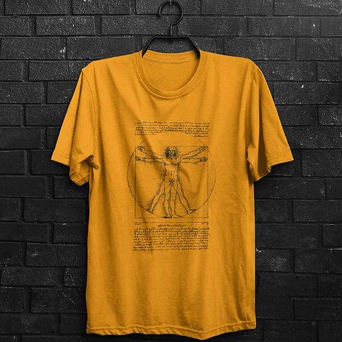 Camiseta - Homem Vitruviano