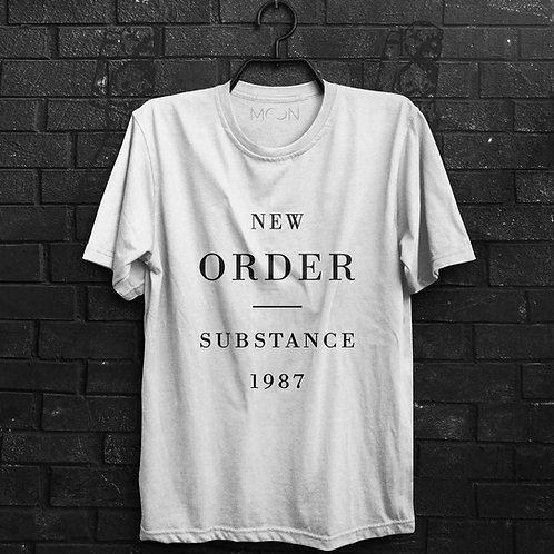 Camiseta - New Order Substance