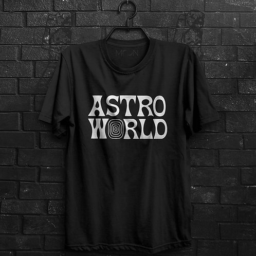 Camiseta - AstroWorld - Travis Scott