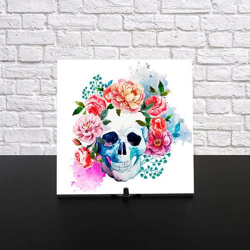 Azulejo - SkullFlower
