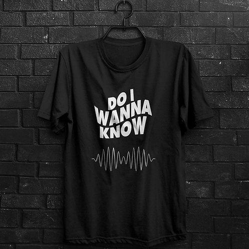 Camiseta - Do I Wanna Know - Arctic Monkeys