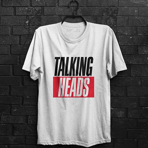 Camiseta - Talking Heads