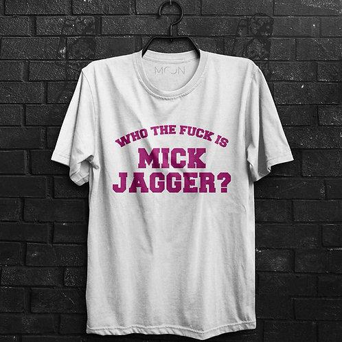 Camiseta - Mick Jagger