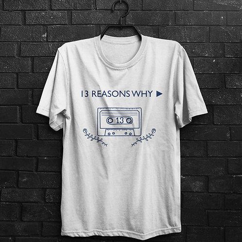 Camiseta - 13 Reasons Why