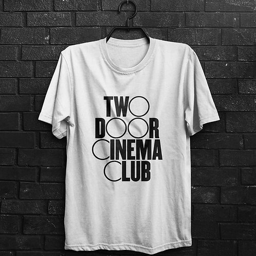 Camiseta - Two Door Cinema Club