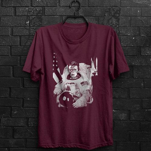 Camiseta - David Bowie Major Tom