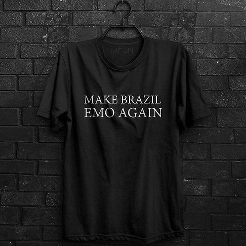 Camiseta - Make Brazil Emo Again