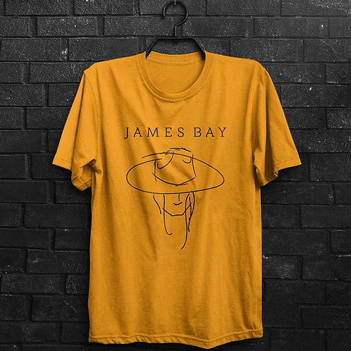 Camiseta - James Bay