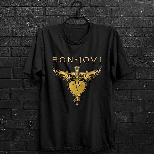 Camiseta - Bon Jovi