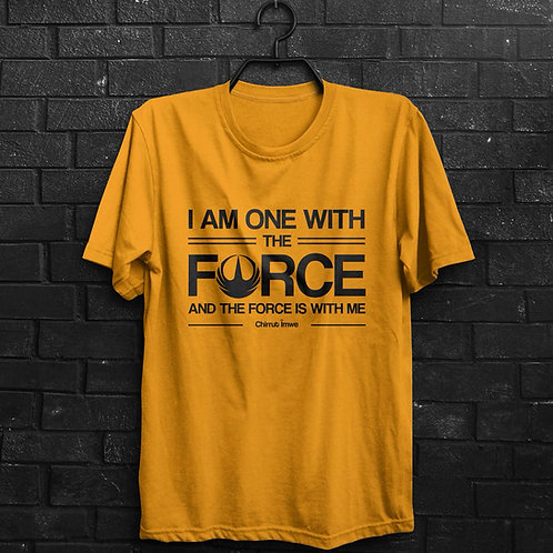 Camiseta - The Force - Star Wars Rogue One