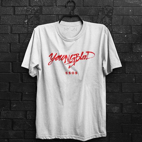 Camiseta - Young Blood 5SOS