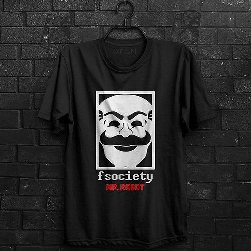 Camiseta - FSociety Mr. Robot