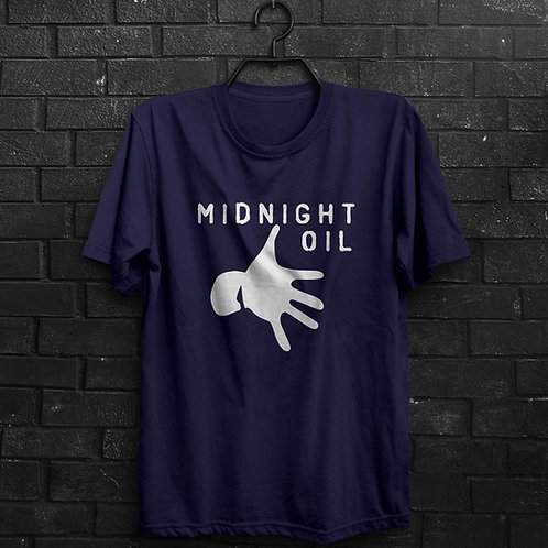 Camiseta - Midnight Oil