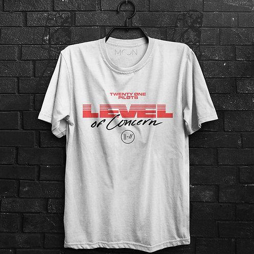 Camiseta - Level Of Concern - Twenty One Pilots