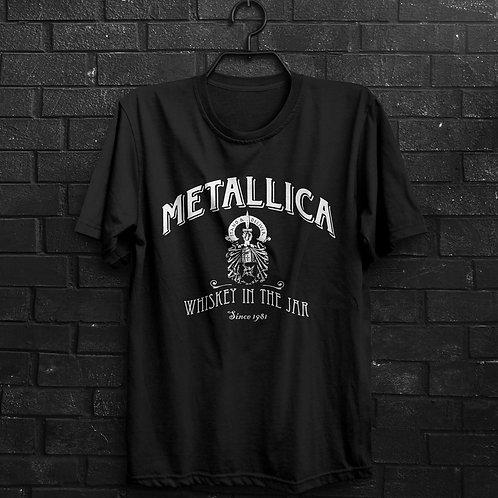 Camiseta - Whiskey In The Jar - Metallica