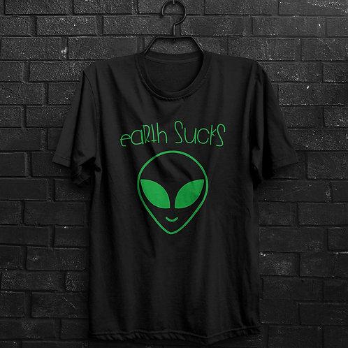 Camiseta - Earth Sucks