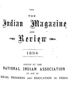 Indian Magazine 1894