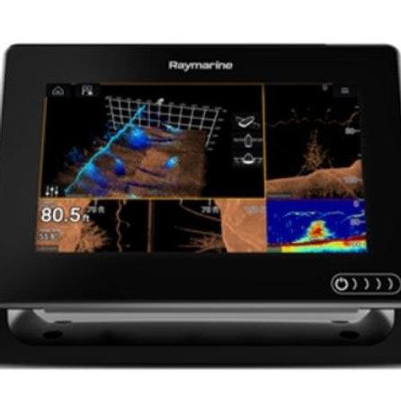 Raymarine Axiom 7RV with Navionics+ and RealVision Transducer