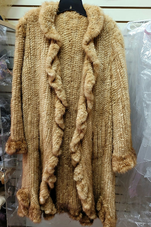 Mink Paw Fur Sweater