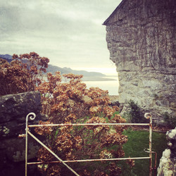 Cottage Wall and old Gate, Mawddach
