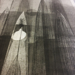 Crocosmia Monoprint - detail