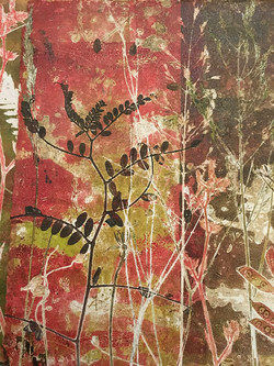 Meadow monoprint