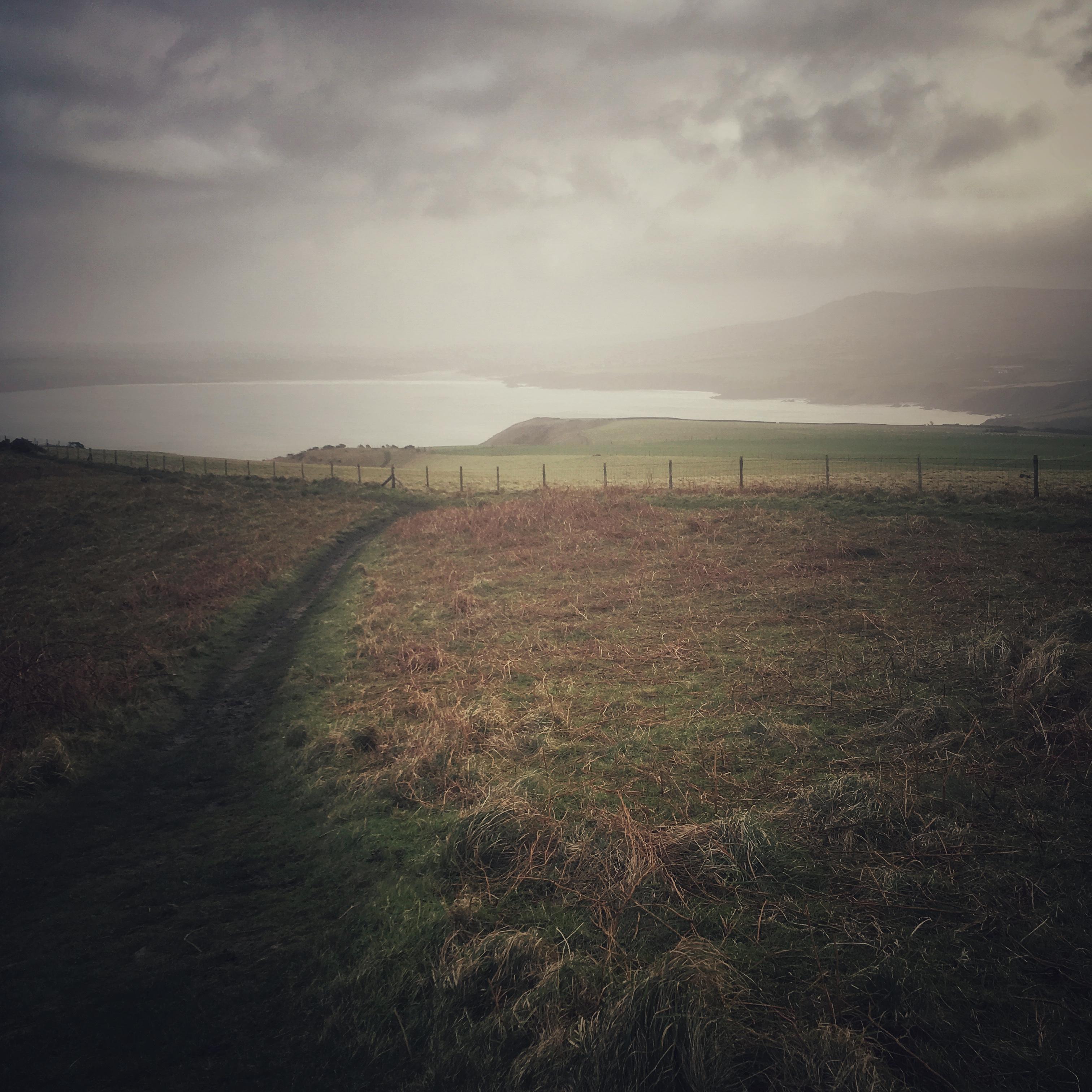 On Misty Dinas Head