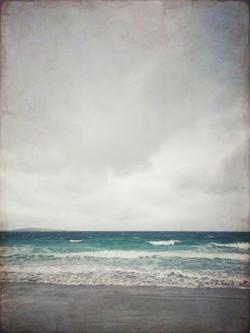 Stormy day on Berneray
