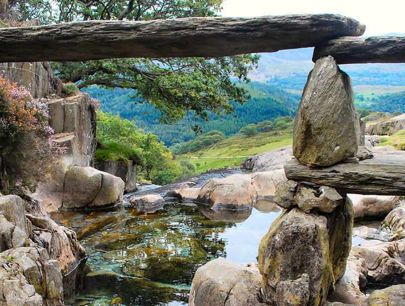 Stone Bridge, Watkins Route, Snowdon