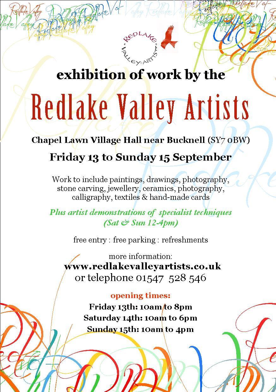 RVA Exhibition poster