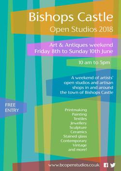 BCOS Open Studios poster