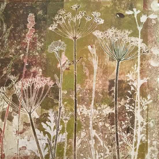 Meadow monoprint
