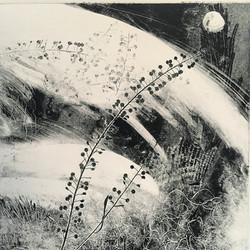 Caer Caradoc - Monoprint