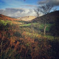 Eglwyseg Rocks, near Pentredwr