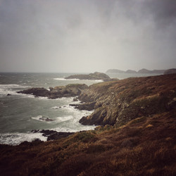 Near Porth Clais, Weather Drawing In