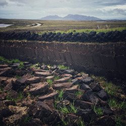 Peat Cutting on North Uist