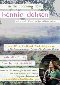 Bonnie Dobson poster