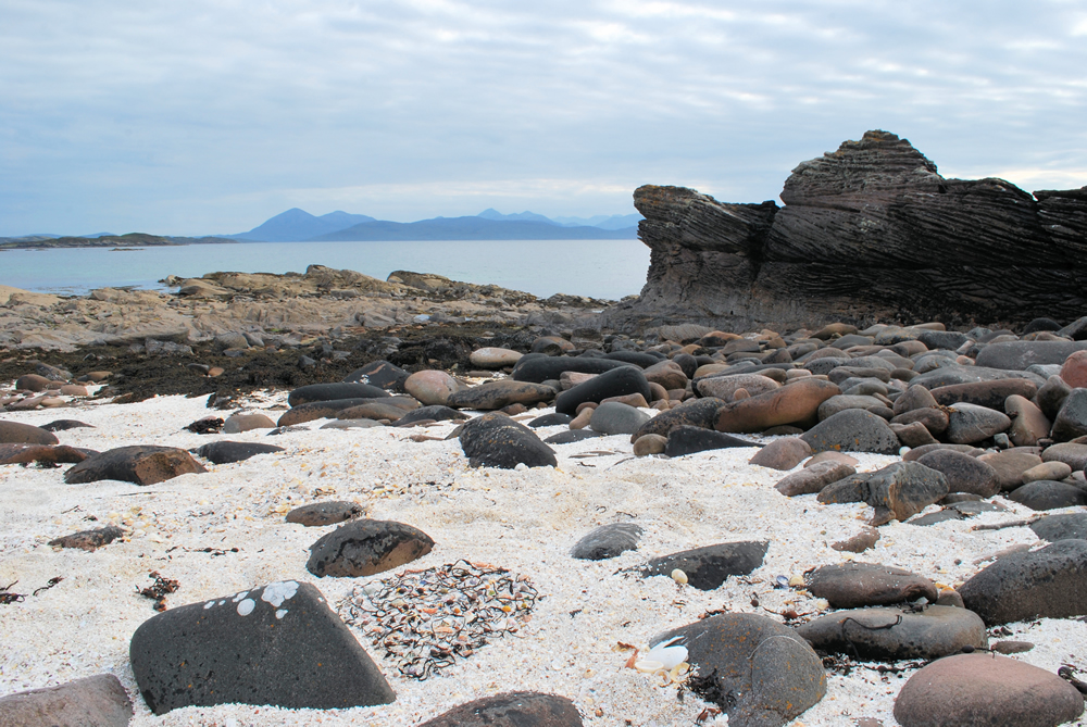 The coral shore, Ard Dhubh