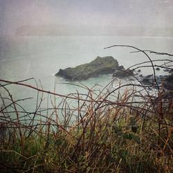 Misty Day on the Coastal Path