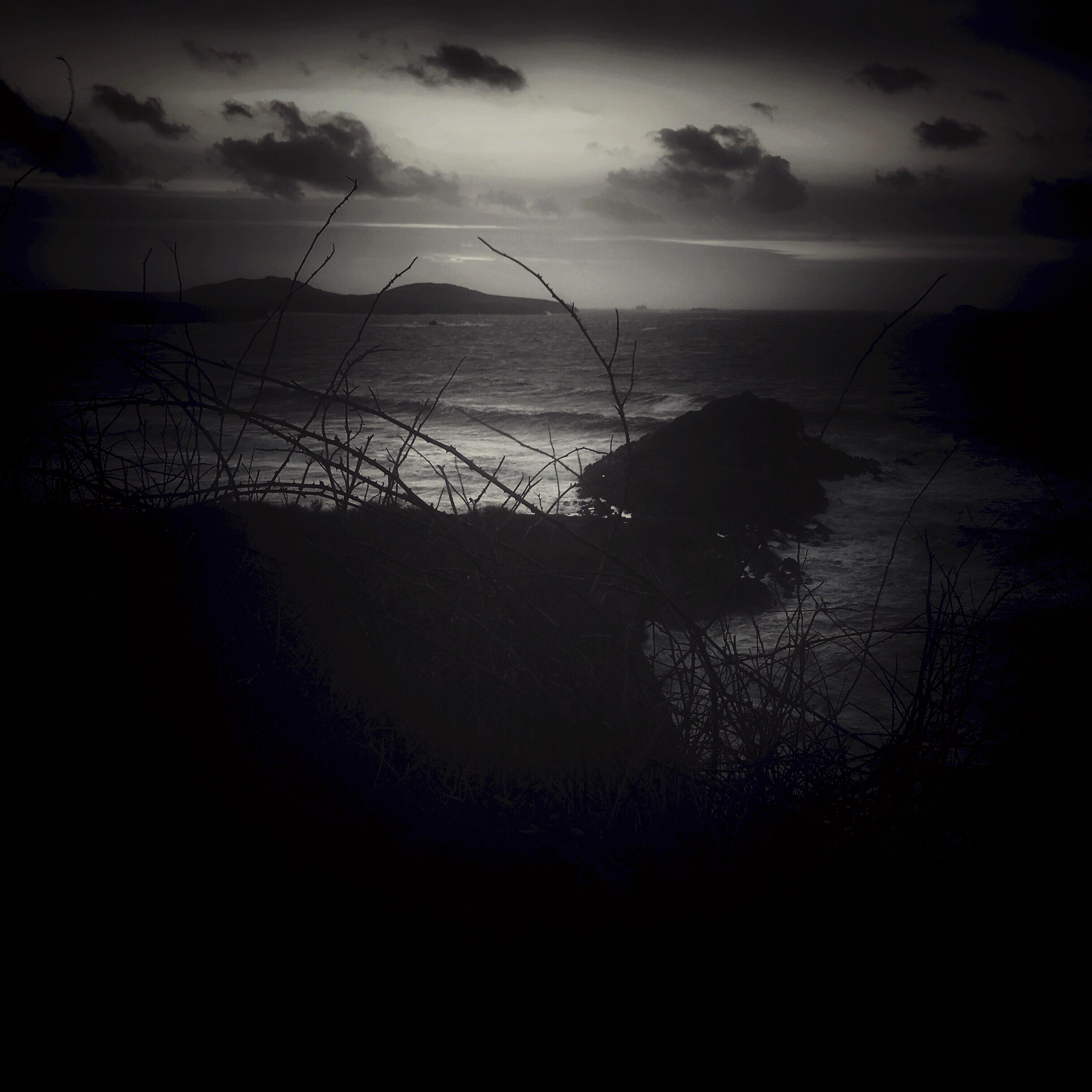Dusk at Whitesands Bay