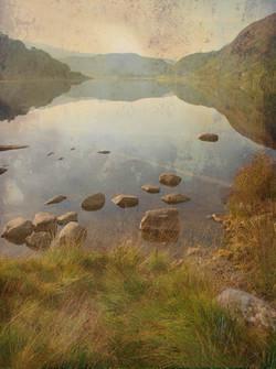 Llyn Dinas in Early Summer Light