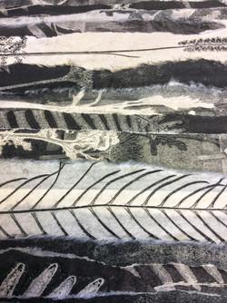 Monoprint Collage - detail